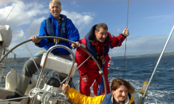 Sailing lessons, coastal skipper, certificate, yacht master, day skipper, competent crew, start yachting, coastal skipper, navigation, practical sailing, learn, icc, lessons, glasgow, scotland, clyde, firth, arran, sea