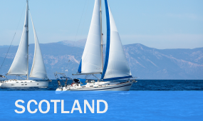bareboat yacht charter rental and hire sailing holidays in scotland