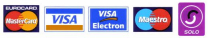 1st ScotSail Training Ltd accepts most credit/debit cards, including VISA, MasterCard, Maestro & Switch/Solo/Electron