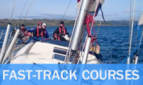 rya / mca professional yachtmaster commercial endorsement fast track course package scotland
