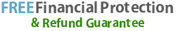 free financial protection and refund guarantee