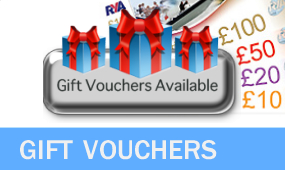 Gift Vouchers For RYA Courses or Open Value sailing powerboating watersports vouchers
