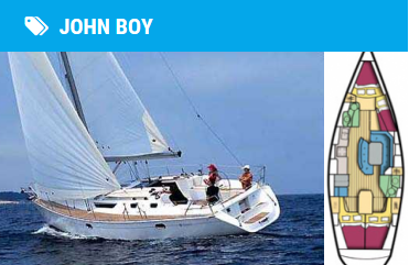 jeanneau 42 john boy for coastal and day skippers courses scotland