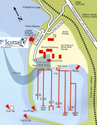 Largs Yacht Haven Map