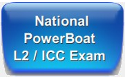 RYA PowerBoat Level 2 Direct Assessment and Exam for National Power Boat Certificate and ICC International Certificate of Competence